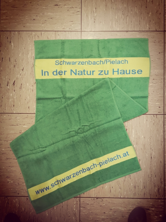 Badetuch grün 70x140cm